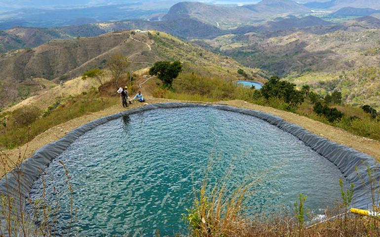 Reabastecimiento hídrico y conservación de cuencas en la República Dominicana